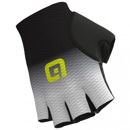 Guantes Alé Mesh Gloves Blanco y Negro