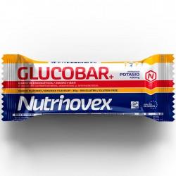 Barrita energética Glucobar Platano con potasio de Nutrinovex