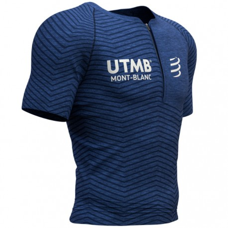 Camiseta Postural Compressport UTMB 2019