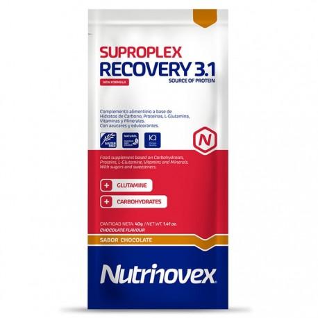 Recuperador Muscular Suproplex Recovery Nutrinovex Chocolate