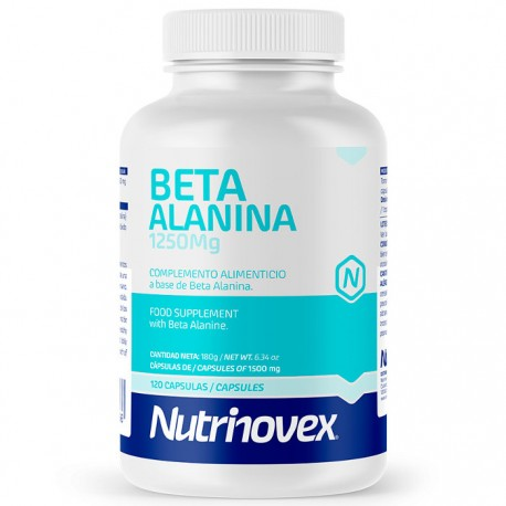 Beta Alanina Nutrinovex 1250mg