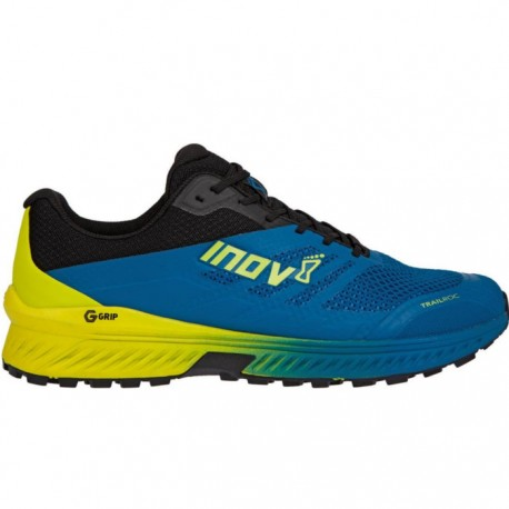 Zapatillas Inov8 Trailroc 280 Grafeno Azul Amarillo