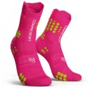 Calcetines Compressport ProRacing Socks v3.0 Trail Rosa