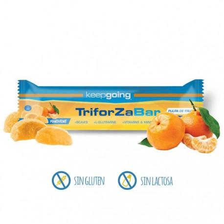 Barrita energética Keepgoing triforza bar mandarina