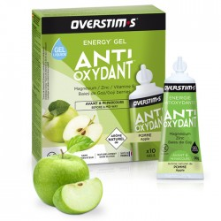 Gel Energético Antioxidante Overstims Manzana Verde