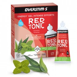Gel Energético Red Tonic Overstims Menta Eucalipto