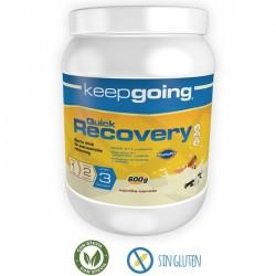 Recuperador muscular Keepgoing Quick Recovery Vainilla
