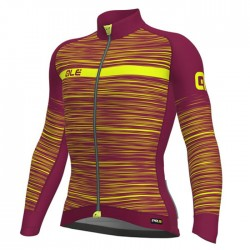 Maillot ciclismo Alé PRR The End morado amarillo