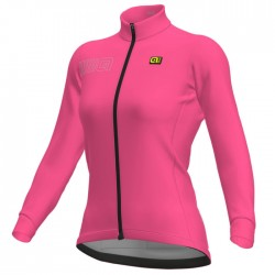 Maillot ciclismo mujer Alé Solid Blok Rosa