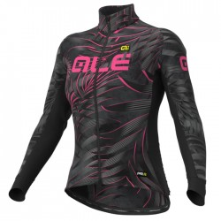 Maillot ciclismo mujer Alé PRR Sunset Gris Rosa