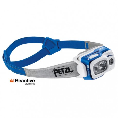 Linterna frontal Swift RL Petzl 900 Lumens Azul