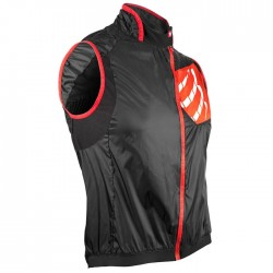 Chaleco Compressport Cycling Hurrican Vest Negro