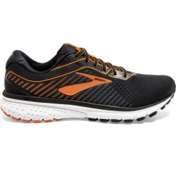 Zapatillas Brooks Ghost 12 Negro Naranja