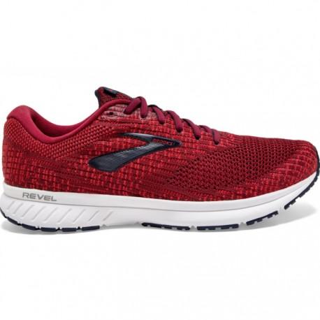 Zapatillas Brooks Revel 3 Rojo