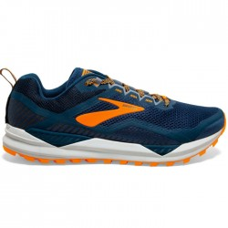 Zapatillas Brooks Cascadia 14 Azul Naranja