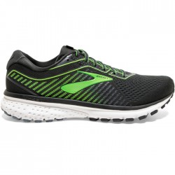 Zapatillas Brooks Ghost 12 Negro Verde