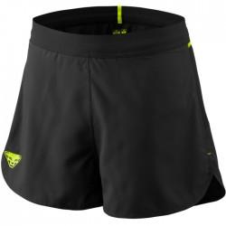 Pantalones cortos ligeros Dynafit Vertical 2 Negro y Amarillo