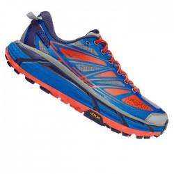Zapatillas Hoka Mafate Speed 2 Azul Gris Rojo