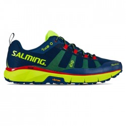 Zapatillas Salming Trail 5 Azul Amarillo