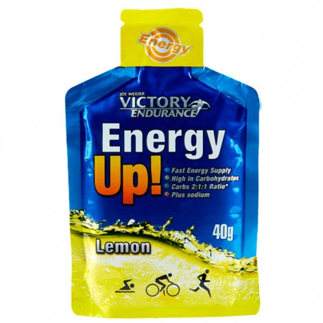 Gel energético Energy Up Victory Endurance Limón