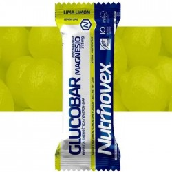 Barrita energética Glucobar Limón con Magnesio Nutrinovex