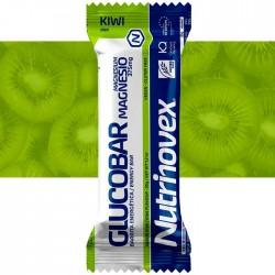 Barrita energética Glucobar Kiwi con Magnesio Nutrinovex