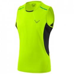 Camiseta Dynafit Vert Tirantes Amarillo