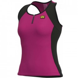 Maillot sin mangas mujer Ale Solid Block Violeta