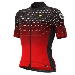 Maillot ciclismo Alé corto PRS Bullet Negro Rojo