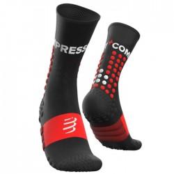Calcetines Compressport Ultra Trail Socks Negro
