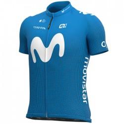 Maillot ciclismo Alé corto Movistar Team 2020 Azul