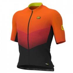 Maillot ciclismo Alé corto PRR Delta Naranja