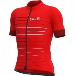 Maillot ciclismo Alé corto Solid Ergo Rojo