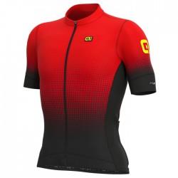 Maillot ciclismo Alé corto PRS Dots Rojo