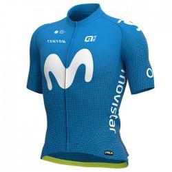 Maillot ciclismo Alé corto PRR Movistar Team 2020 Azul