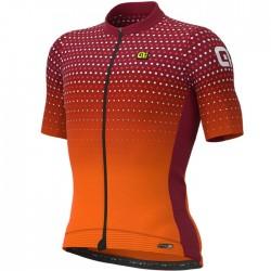 Maillot ciclismo Alé corto PRS Bullet Naranja