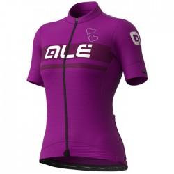Maillot ciclismo mujer Alé corto PRS Crystal Violeta