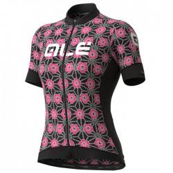 Maillot ciclismo mujer Alé corto PRS Garda Rosa