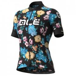 Maillot ciclismo mujer Alé corto PRR Fiori colores