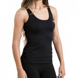 Camiseta Hanker Jadam Mujer Tirantes Negro