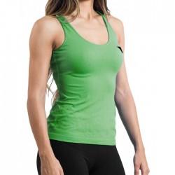 Camiseta Hanker Jadam Mujer Tirantes Verde