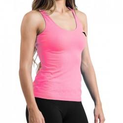 Camiseta Hanker Jadam Mujer Tirantes Rosa