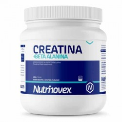Creatina + Beta Alanina Nutrinovex 250gr Neutro