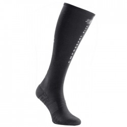 Calcetines Compressport Black Edition Full Socks Oxygen