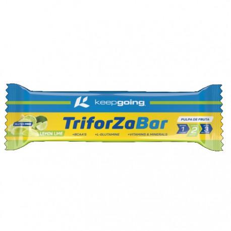 Barrita energética Keepgoing triforza bar limón