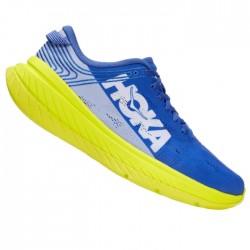 Zapatillas Hoka Carbon X Azul Amarillo