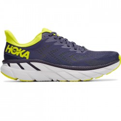 Zapatillas Hoka Clifton 7 Gris Amarillo