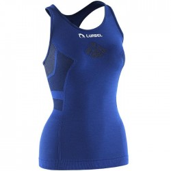 Camiseta Lurbel Freedom singlet Mujer tirantes azul