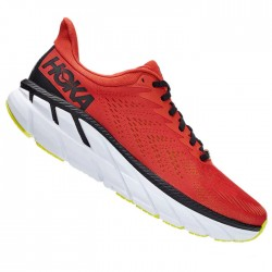 Zapatillas Hoka Clifton 7 Rojo Chili
