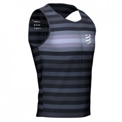 Camiseta Compressport Pro Racing Singlet Negro
